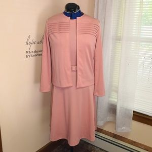 Vintage 1970s Bleeker Street dress set